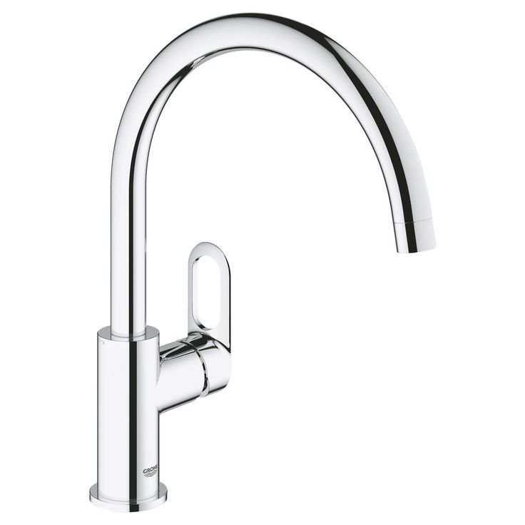 Grohe START LOOP Chrome Kitchen Monobloc Tap | Departments | DIY at B&Q