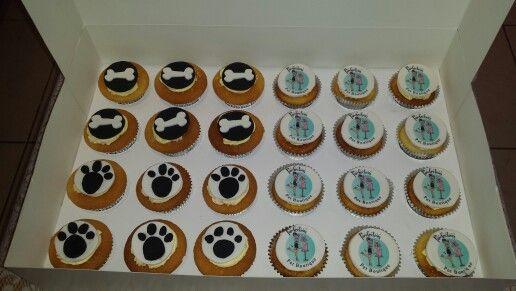 Pawfection #cupcakes #dogbones #pawfection #partycakefun