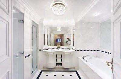 A Whole Lotta Love The Classic White Marble BathroomBathroom