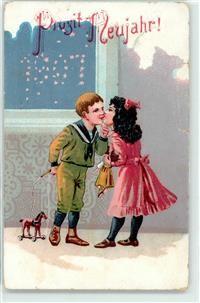 Neujahr Kind Kuss Puppe Spielzeug Preissenkung