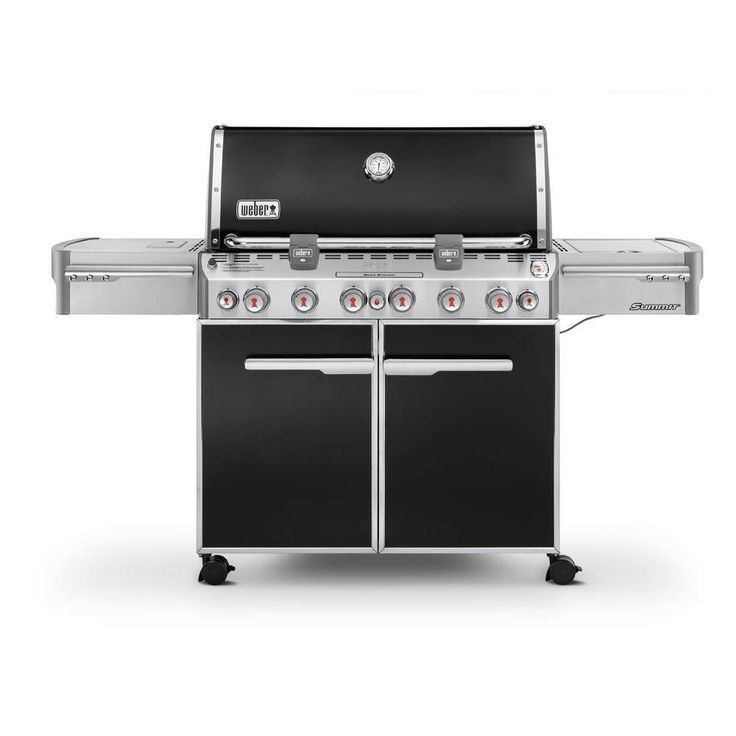 Summit E-670 LP Gas BBQ in Black http://grillinglovers.org/