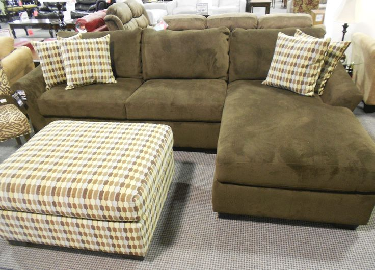 Simmons nimbus umber sectional sofa sofantastic to relax for Simmons sectional sofa covers