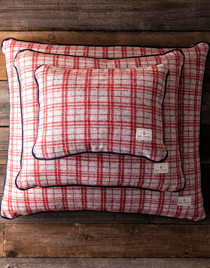 Gramercy Wool Pillows are available in three sizes. It looks fabulous paired with the matching Gramercy Wool Blanket.