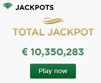 At #MrGreen ( http://bit.ly/12hCE6g  ) the total #jackpot is over 10,000,000€. Play for free or to chage your life!