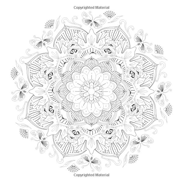 Butterfly Mandalas Coloring Book: Nick Snels