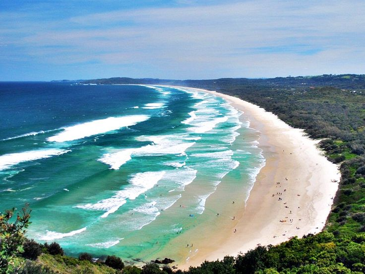 Byron Bay, Queensland, Australia. I can't believe that I'll be there in less than two months!