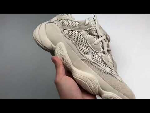 0e6cffc2ce69df Clean look Yeezy Desert Rat 500 Blush from kicks-vogue.com