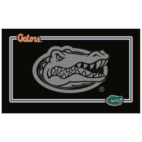 Florida Gators Black Pet Bowl Mat