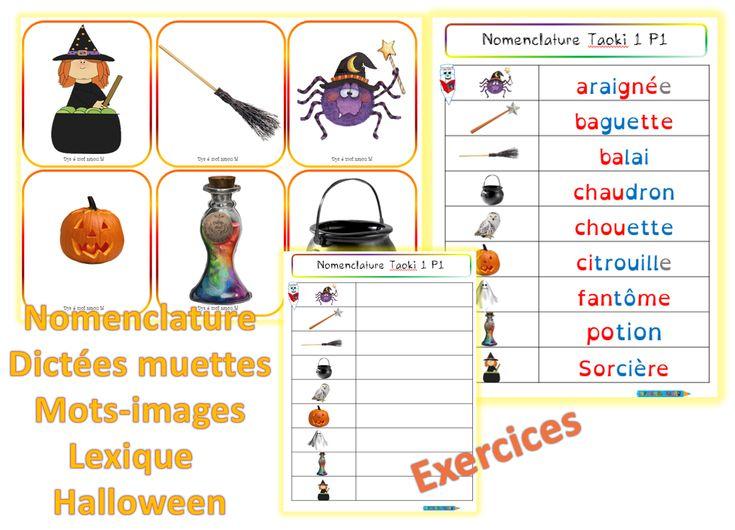 Nomenclature-halloween - dys é moi Zazou et Madel