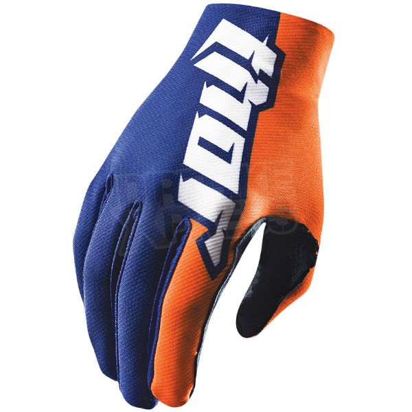 2015 Thor Void Plus Gloves - Pursuit Navy Orange   Available at www.dirtbikexpress.co.uk