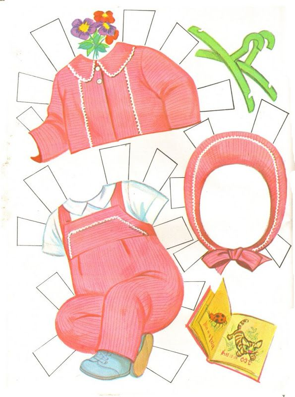 Tiny Thumbelina by Ideal, Paper Doll Clothes, 1963 ...