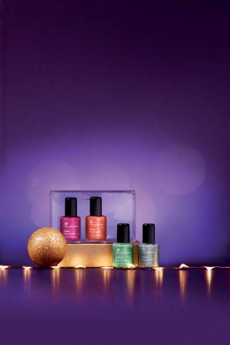 Esmaltes de uñas de la Colección Navidad.