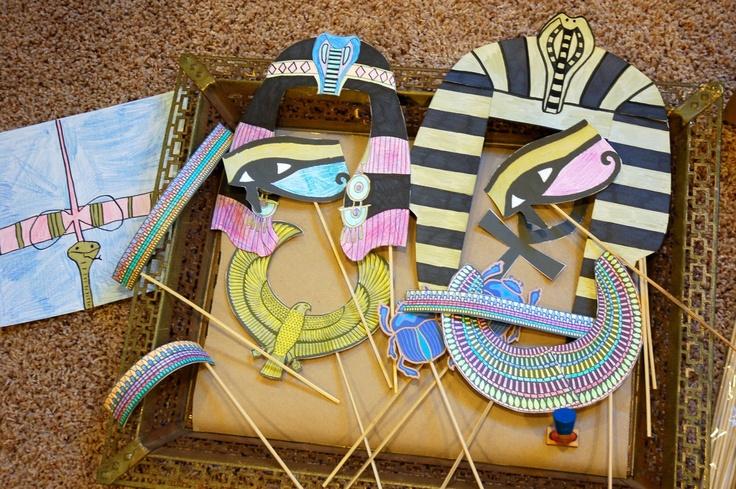 egyptian birthday party | restlessrisa: Egyptian Birthday Party