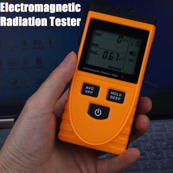 19.44$  Buy here - http://alir37.shopchina.info/go.php?t=32702060980 - LCD Display Electromagnetic Radiation Detector Meter EMF Measuring Instrument  #buyininternet