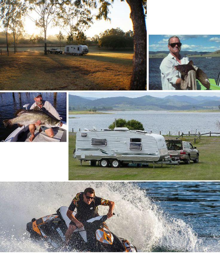 Cheap #CaravanHolidays With #FishingLakes In #Australia - Lake Monduran Holiday Park, Whyalla Foreshore, Lake Somerset Holiday Park