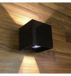 Applique murale noire design Cubic