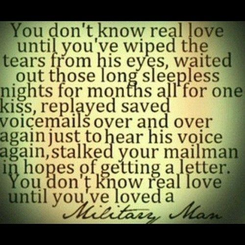 Military love ?? quotes and sayings Pinterest Military, Love ...