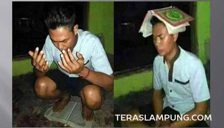 Warga Lampung Selatan Unggah Foto Injak Quran untuk Buktikan Cinta kepada Pacarnya | Teras Lampung