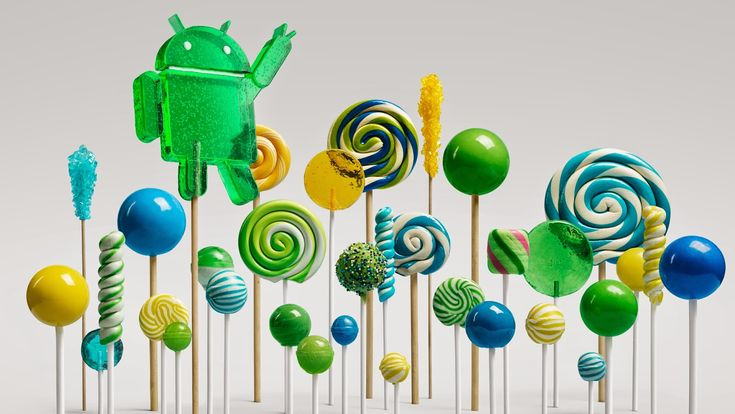 Android 5.0 Lollipop, The Latest Version of Google's Mobile Operating System Featuring a New Responsive Design