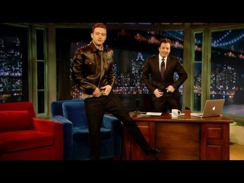 When JT did an impression of his buddy Jimmy. | 19 Times Justin Timberlake And Jimmy Fallon Literally Saved The World