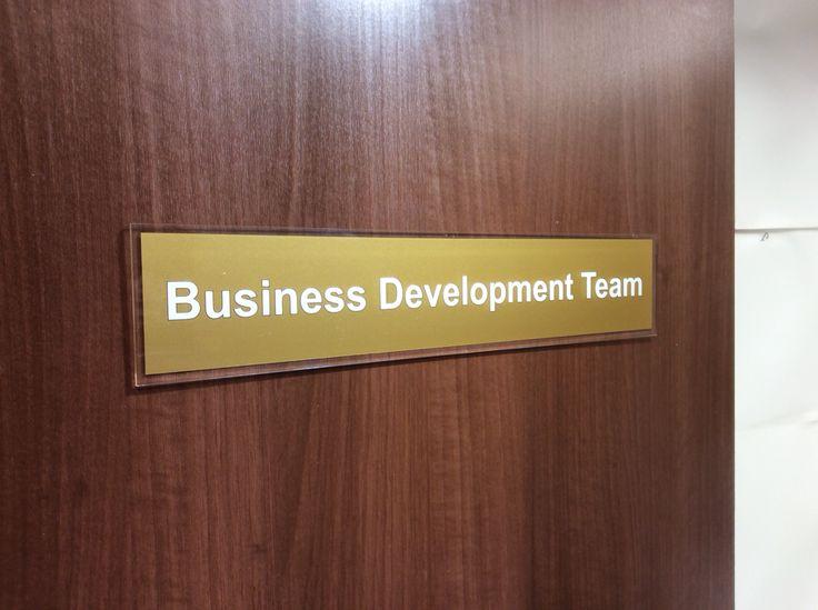 interchangeable office door signs - latest door model 2017