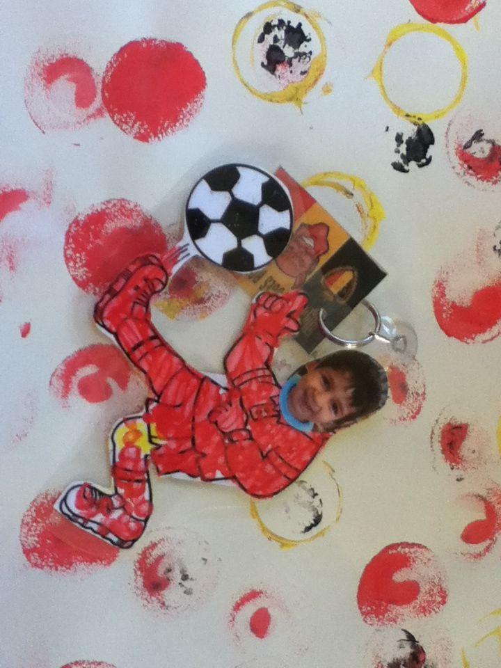 Vaderdag tijdens het WK met de Rode Duivels