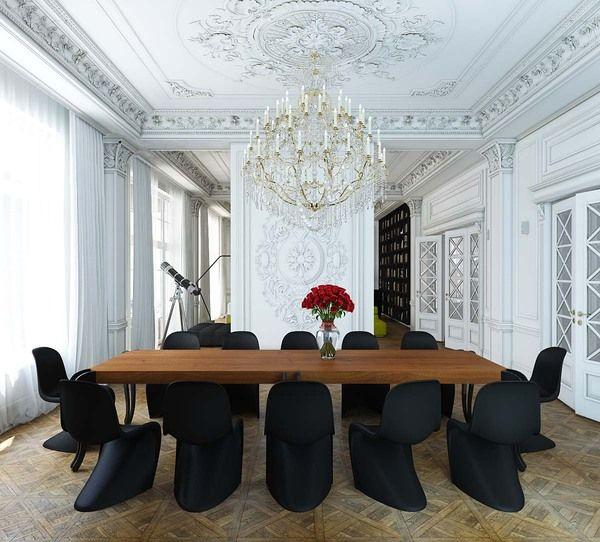 Villa by Nikita Borisenko, via Behance