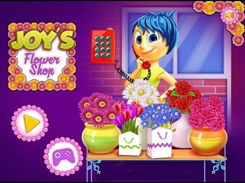 Inside Out - Joy`s Flower Shop - Game Tutorial 2016