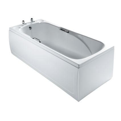 Armitage Shanks Sandringham Acrylic Rectangular Straight Bath (L)1685mm (W)695mm: Image 1