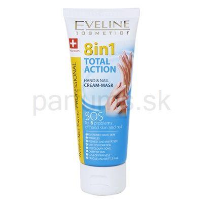 Eveline Cosmetics Total Action obnovujúci krém na ruky 8 v 1