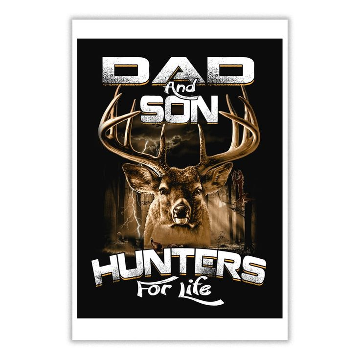 Dad and Son Hunters For Life