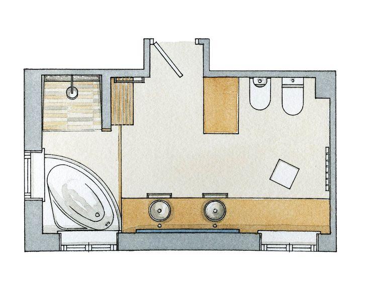 bao vestidor dormitorio baos modernos duchas utiles proyectos jacuzzi sdb doble bao