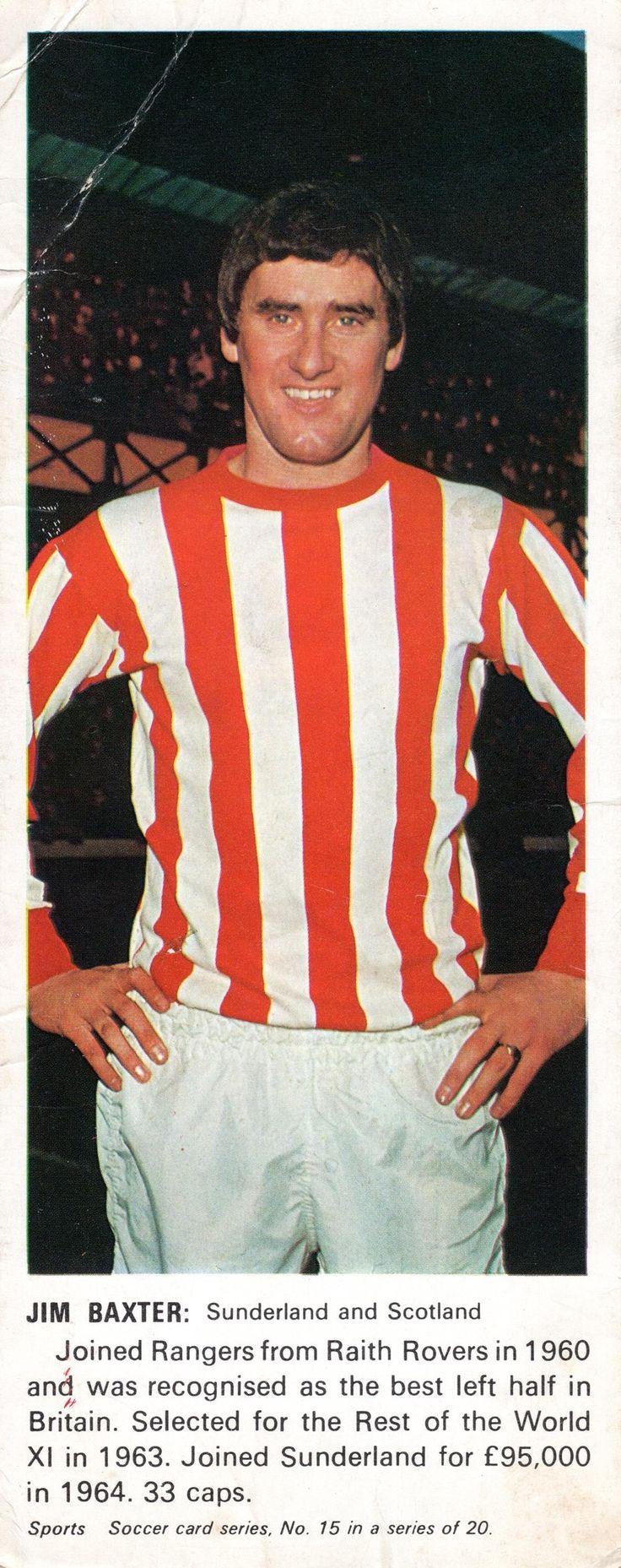 Jim Baxter of Sunderland in 1965.