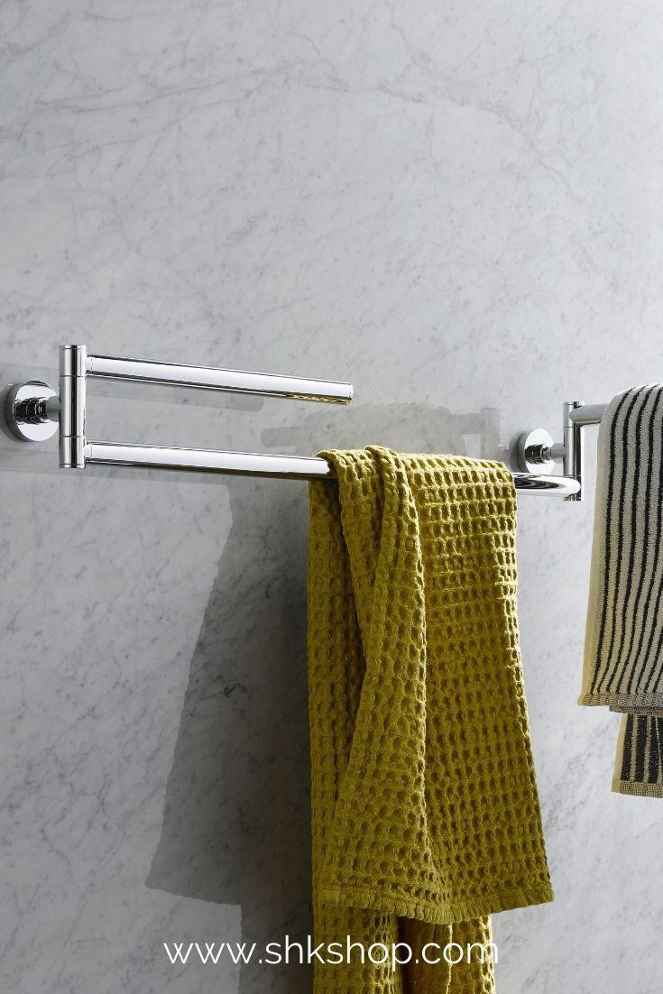 Emco Eposa Trockenreck 3 Armig 2 Handtuchstangen Drehbar 600 Mm Chrom In 2020 Badezimmer Accessoires Handtuchstange Badezimmer