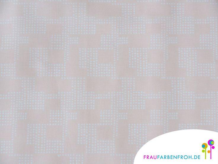 Wachstuch - WACHSTUCH Grafisch matt beschichtete Baumwolle  - ein Designerstück von FrauFarbenfrohStoffe bei DaWanda
