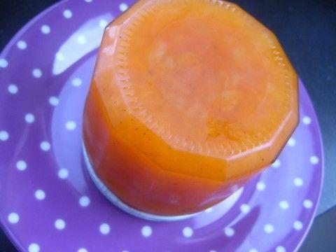 Peer-abrikozenconfituur