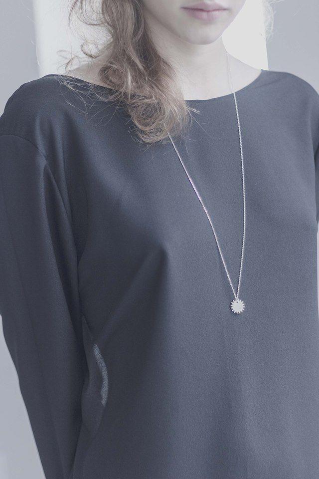necklace / Anna Lawska Jewellery /  dress / natalia siebula /