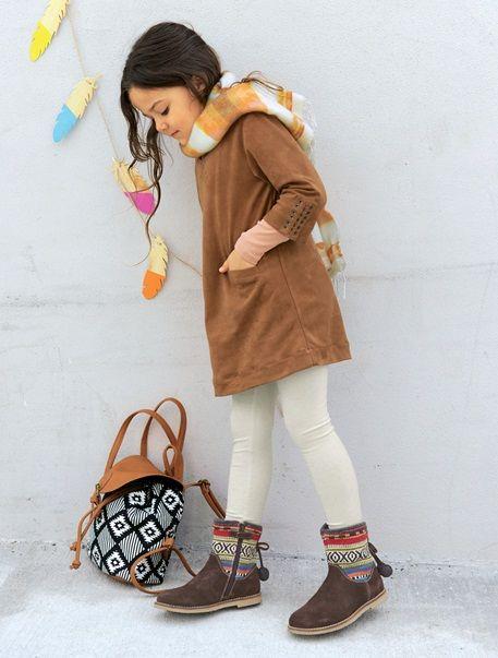 Conjunto de túnica y leggings niña CARAMELO