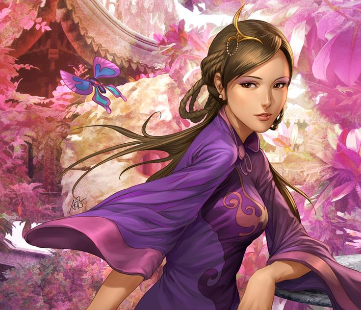 Three Kingdoms - Da Qiao by Artgerm on deviantART
