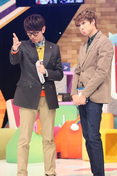 U-Kiss's Kevin and Eric Nam Love these two dorks