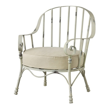 I pinned this Burlington Iron Arm Chair from the Rustic & Romantic event at Joss and Main! Protected spaces only.