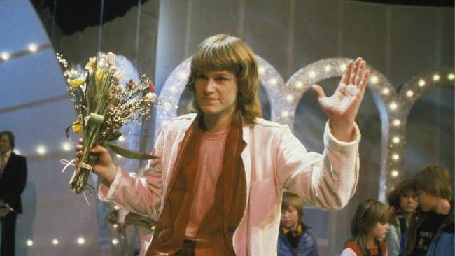 Ted Gärdestad, vinnaren i Melodifestivalen 1979.