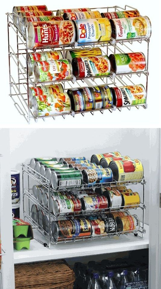 #48. Stackable Can Organizer -- 55 Genius Storage Inventions That Will Simplify Your Life