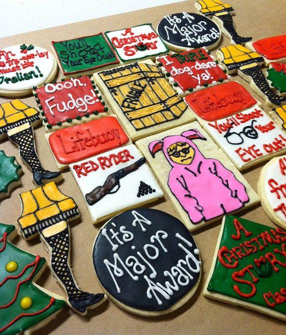 Christmas story gift basket