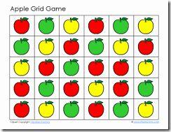 Apples Grid Game