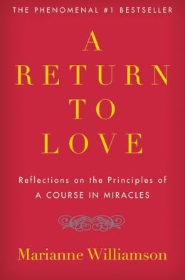 Not embarrassed.  A Return to Love: Reflections on the Principles of a Course in Miracles