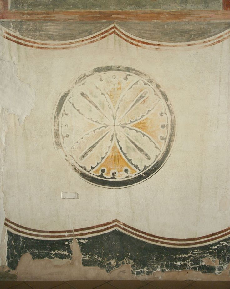 Музей фресок Дионисия - Медальоны - Северо-западный столб, северная грань