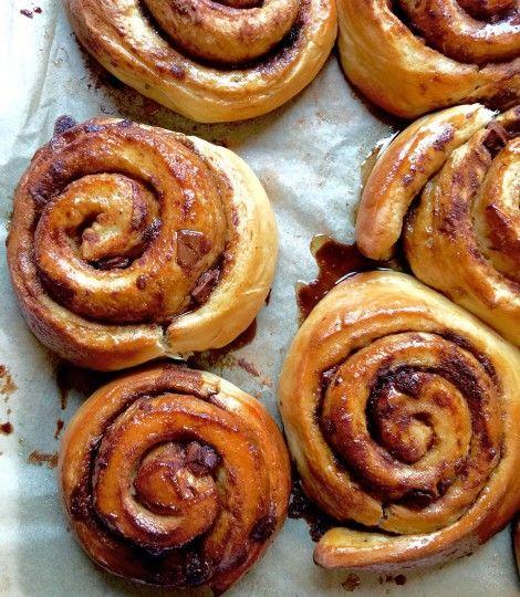 chocolate-and-cinnamon-buns