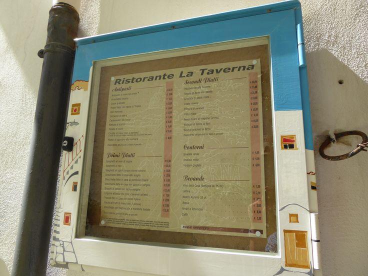 """Pranzo, """"La Taverna"""" (Trattoria), Peschici Puglia Italia (Luglio)"""