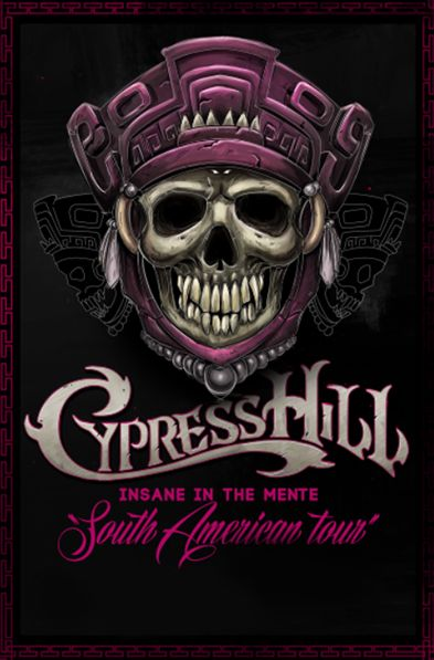 CypressHill insane in the mente on Behance